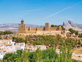 Festung in Andalusien